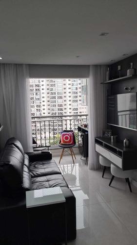Imagem 1 de 10 de Apartamento 2 Dormitórios 1 Suíte + Vaga. Mobiliado! Osasco