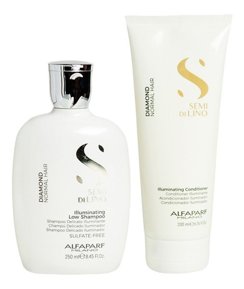 Alfaparf Semi Di Lino Shampoo 250 Ml + Acondicionador 200 Ml