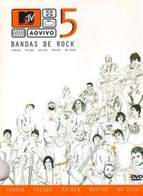 Mtv Ao Vivo 5 Bandas De Rock - Dvd Pack