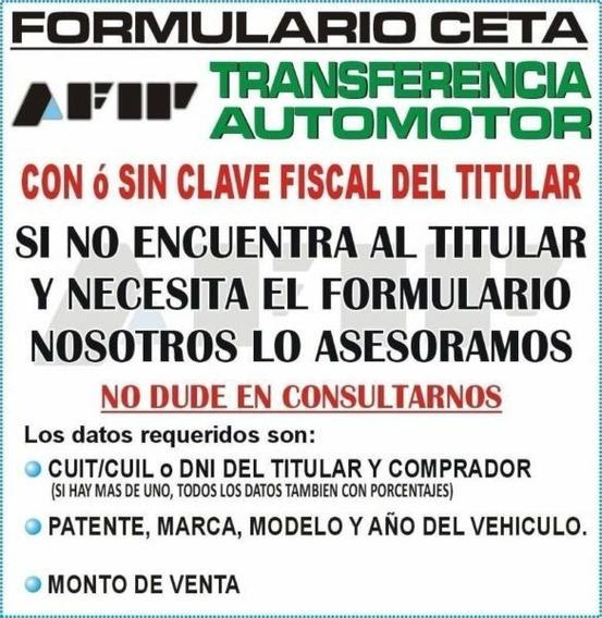 Formulario Ceta En El Momento!! Emitidos Por Afip!! Transfe