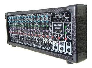 Wenstone Ma-1400e Mp3 Consola Potenciada 500w 14 Canales
