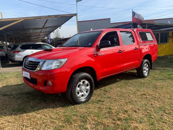 Toyota Hilux 4x2 Full Diesel Año 2014 2.5 Cc