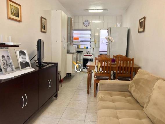 Casa De 1 Dormitório Em Condomínio Fechado - Aviação - Praia Grande/sp - Ca0075