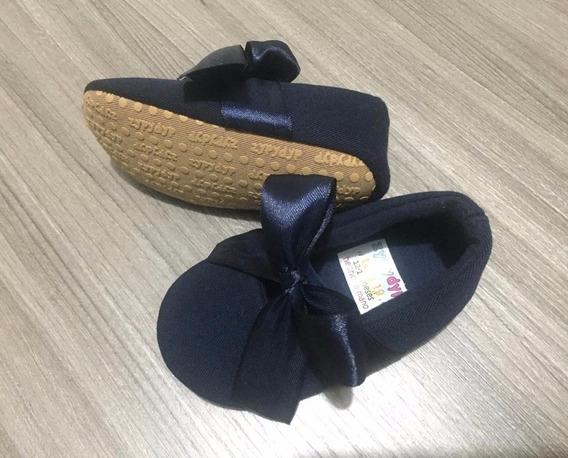 Zapato Para Bebita Con Cintas