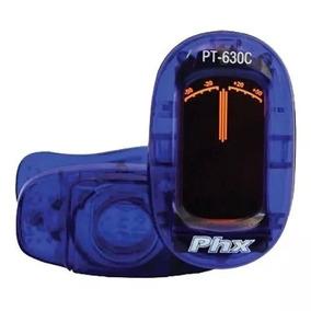 Afinador Cromático Digital Azul Pt-630c Phoenix