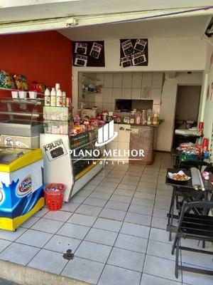 Salão Para Locação, Equipado Para Lanchonete/bomboniere, 1 Banheiro E Depósito, No Bairro Vila Domitila/jdm.popular, 32m².sl0062 - Sl0062
