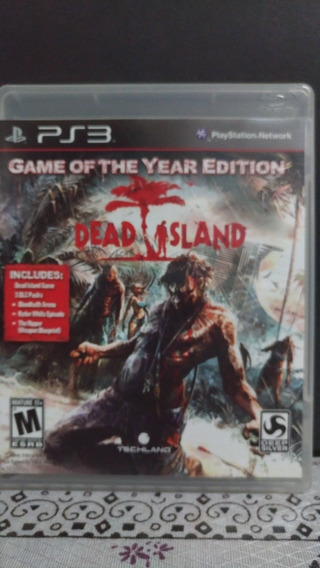 Jogo - Dead Island - Game Of The Year Edition - Ps3 - Física