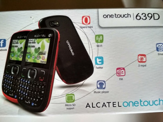 Celular Alcatel 639d (novo)