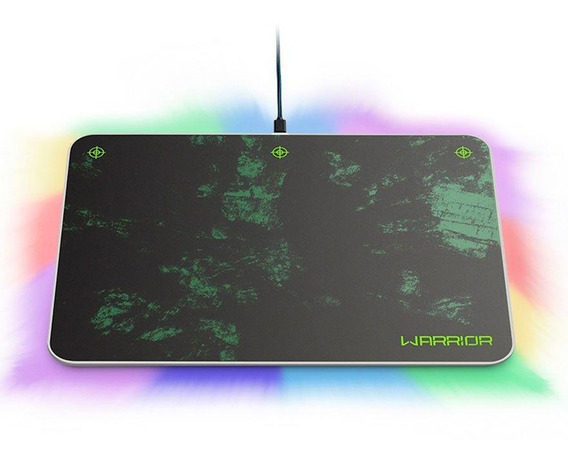 Mouse Pad Gamer Grande Led E Mira Magnetica Multilaser Ac299