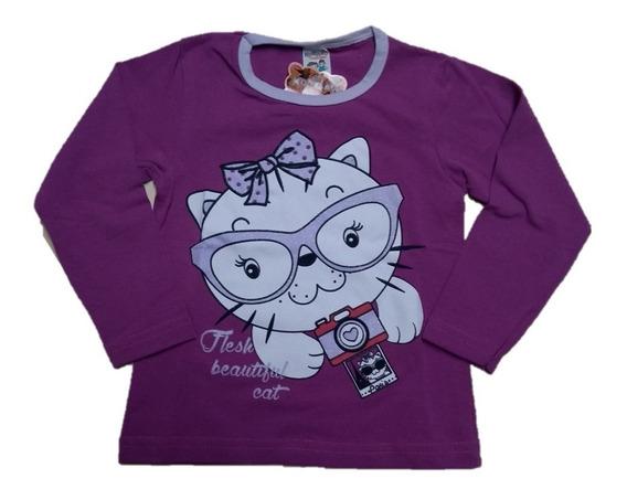 Kit 10 Camiseta Blusa Infantil Cotton Atacado Ml Barato