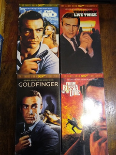 The James Bond 007 Collection. Vhs