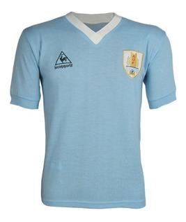 Camisa Retrô Uruguai 1986, Você Escolhe O Número + Nome