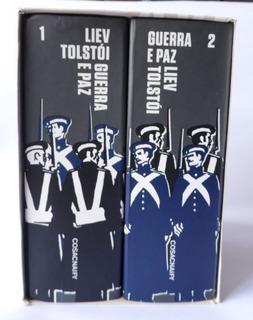 Livro - Guerra E Paz - Liev Tolstói - Cosac Naify- Box Luxo