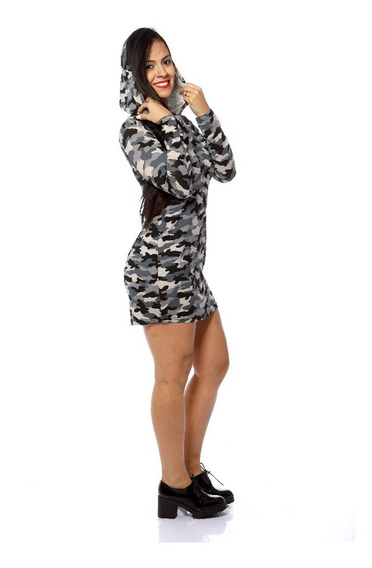 Vestido Feminino Curto Casual Esportivo Estampado