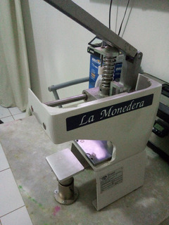 Maquina Tampográfica Kent (la Monedera) Tinteiro Fech Tm100
