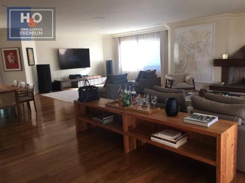 Apartamento Para Alugar, 284 M² - Chácara Itaim - São Paulo/sp - Ap0956
