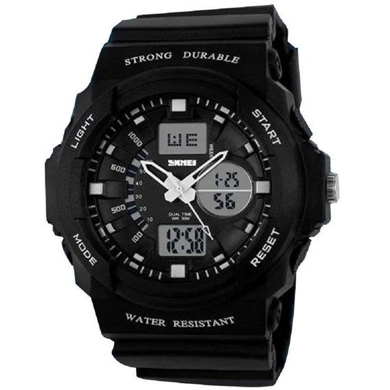 Relógio Masculino Skmei Anadigi 0955 Preto