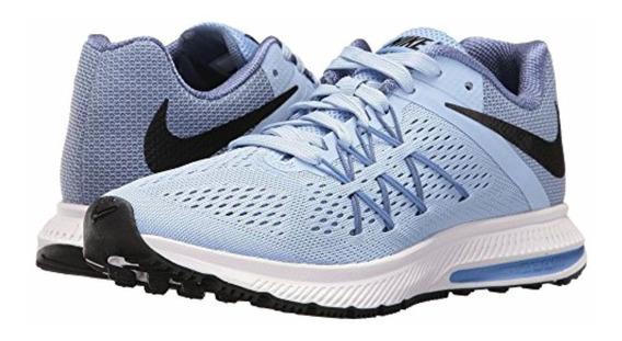 Tenis Nike Zoom Winflo Running Feminino Azul