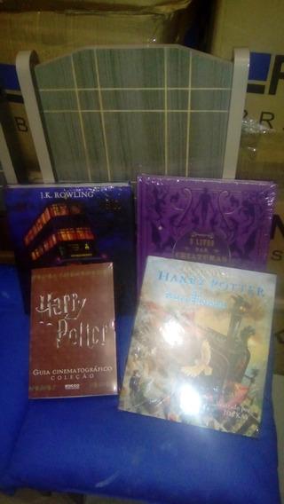 Kit Livros Harry Potter Ilustrados 4 Livros Novos - Ofertão