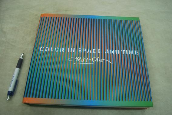 Livro Livro Carlos Cruz-diez: Color In Space And Time Raro