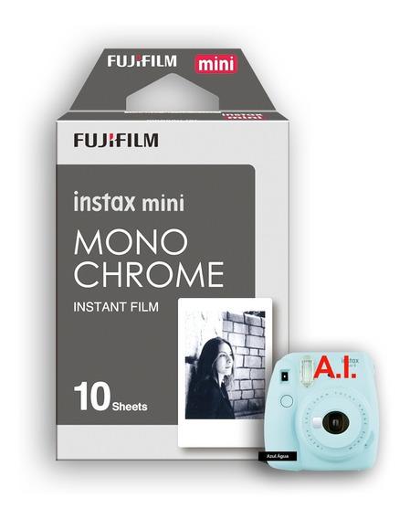 Filme Instax Mini C/ 10 Fotos Preto E Branco