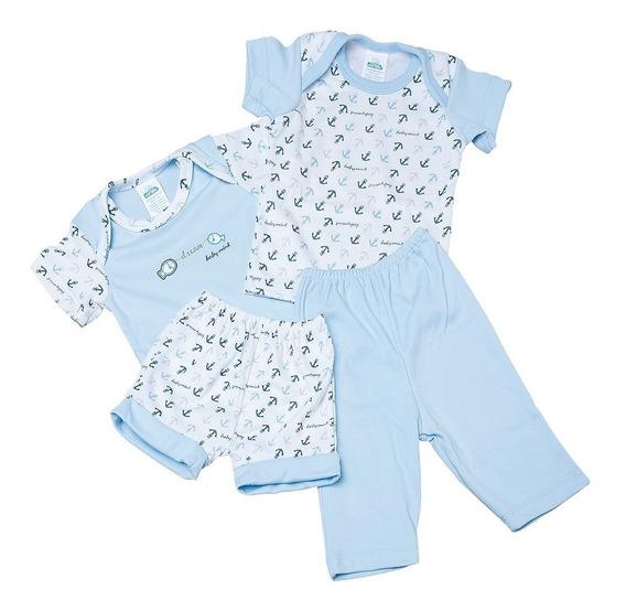 Coordinado 4 Piezas Para Bebé Conjunto Para Bebé Baby Mink