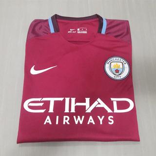 Camisa Manchester City 17/18 Away [ M ] G. Jesus 33