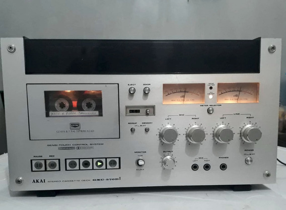 Tape Deck Akai Gxc-570dii - Muito Top, Perfeitol!!