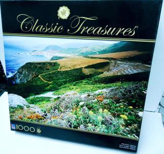 Puzzle Wild Flowers - Classic Treasures - 1000 Piezas