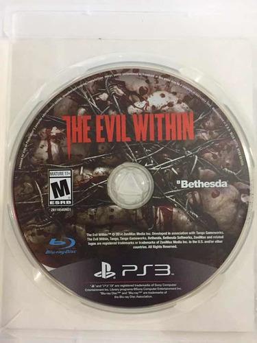 Imagen 1 de 1 de The Evil Within Ps3
