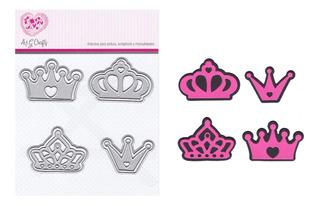 Suajes De Corte Coronas Princesa Para Sizzix #0807