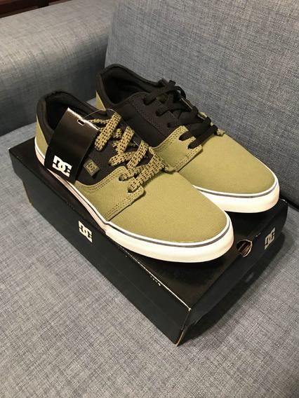 Dc Shoes Tonik Tx Olive Green, Nuevas!!