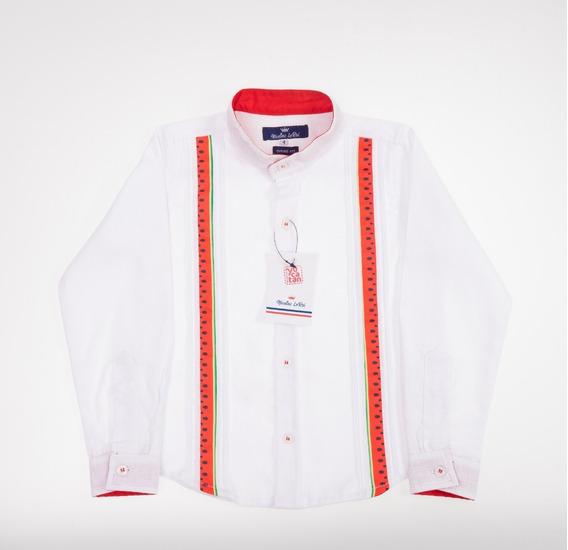 Camisa Guayabera Filipina . Hecho En Yucatan Liquidacion
