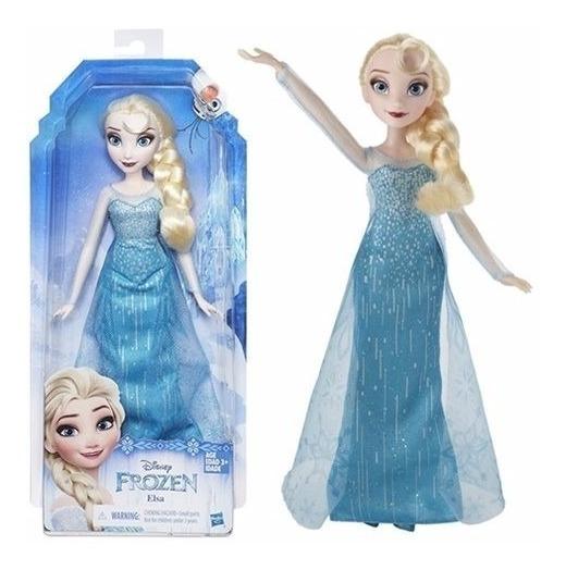 Frozen Elza Muñeca Disney Hasbro