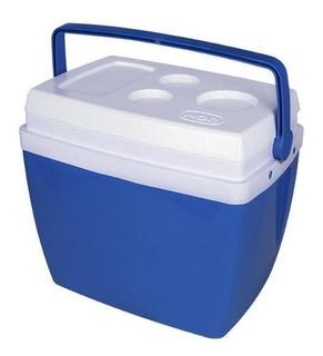 Caixa Termica 34 Litros Azul Com Alça - Mor