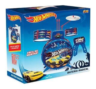Bateria Infantil Radical - Hot Wheels F00057 Fun