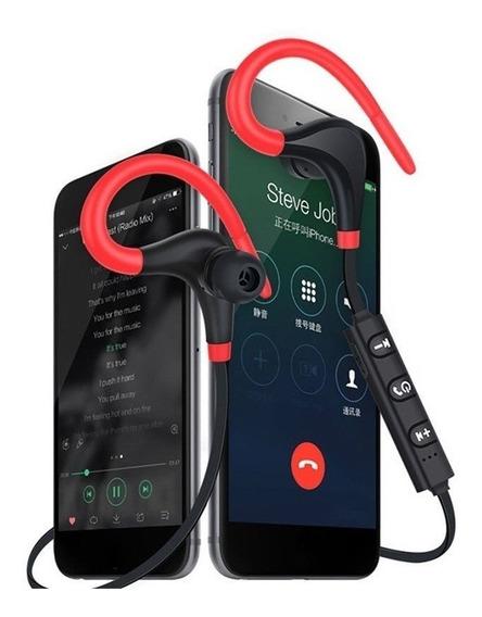 Fone Sem Fio Bluetooth Com Gancho Para Esportes Bt7 Corrida