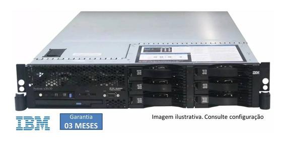 Servidor Ibm 2u- X3650- 02 Qc E5405- 16gb Hd 1.2