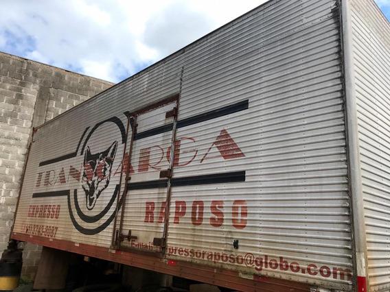 Baú De Alumínio Usado Para Caminhão Toco / Truck Chassi Vw.