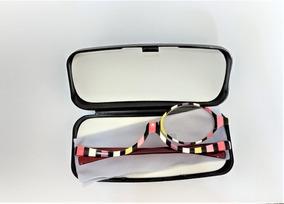 Óculos Para Maquiagem (armação Col) + Estojo + Lenço Limpeza