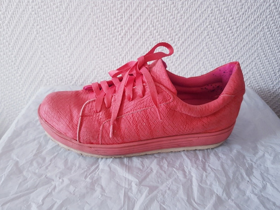 Zapatillas Color Coral