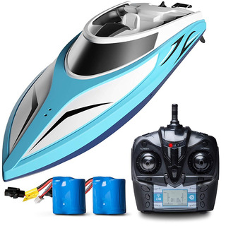 H102 Velocity Remote Control Boat For Pool And Outdoor Use