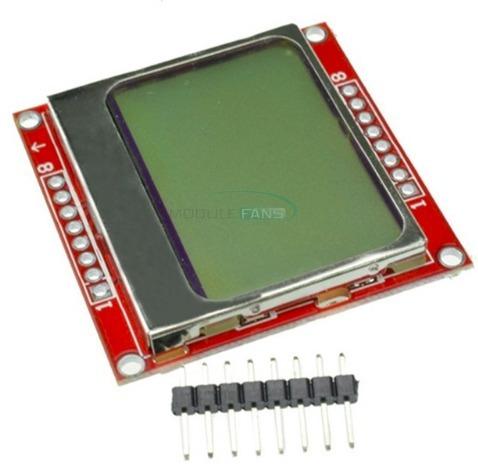 Display Lcd Nokia Monitor Branco Para Arduino