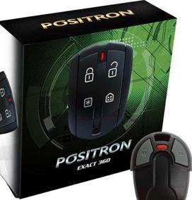Alarme Positron Exact Ex360 + Controle Cabeça Da Chave Fiat