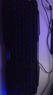Combo Mouse + Teclado Gamer Luces Intercambiables Led