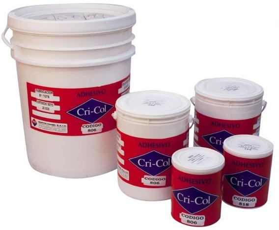 Cola Adhesivo Vinilico 20 Kg Cricol 818 En Cuotas!