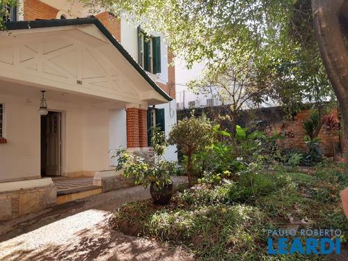 Casa Assobradada - Pacaembú  - Sp - 604036