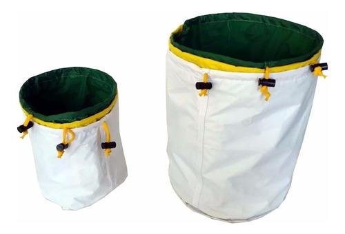 Imagem 1 de 1 de Kit 3 Bubble Bags 18 Litros Cultivo Indoor Grow