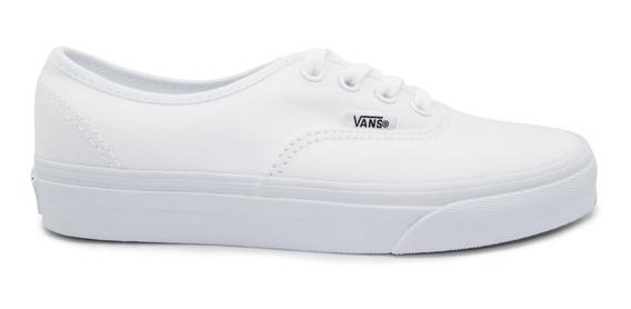 Tenis Vans Slip On Classic Vn-0eyew00 White Blanco Unisex