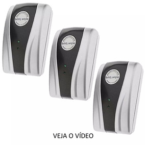 Kit 3 Peças Redutor Reduz Consumo De Energia Saving Box....